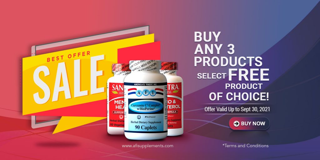 Buy any 3 Products – Select FREE Product of Choice!