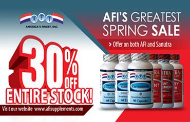 AFI Greatest Spring Sale
